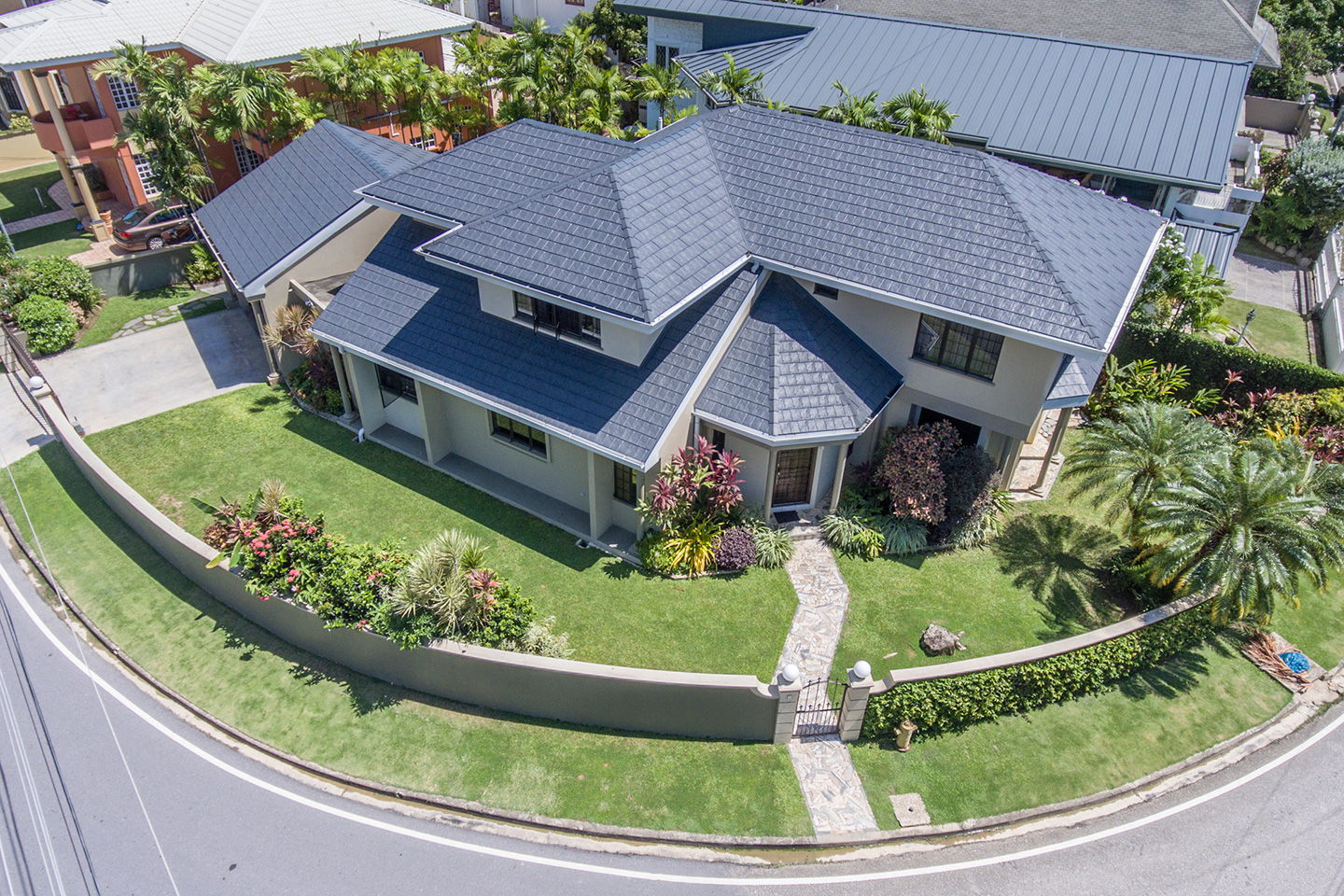 Roof Systems – Trinidad and Tobago on flat house in guyana, flat house design inside, flat house plans, flat house designs in florida, flat house with garage, flat houses in london,