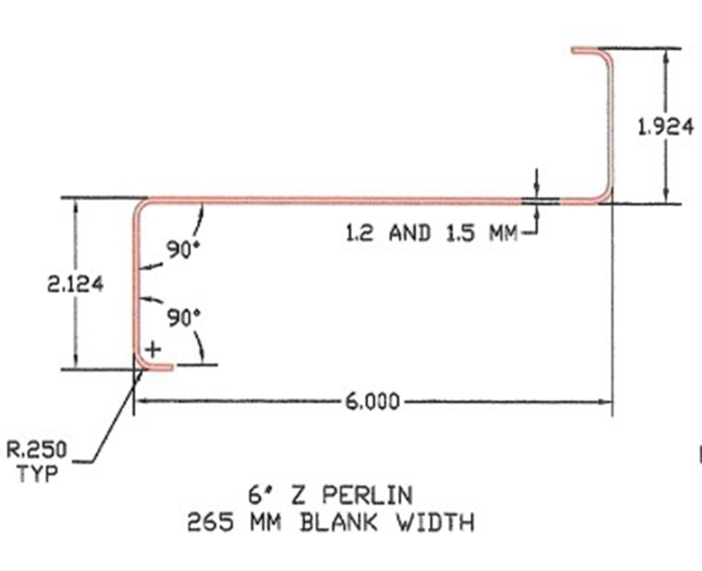 Z And C Purlins Roof Systems