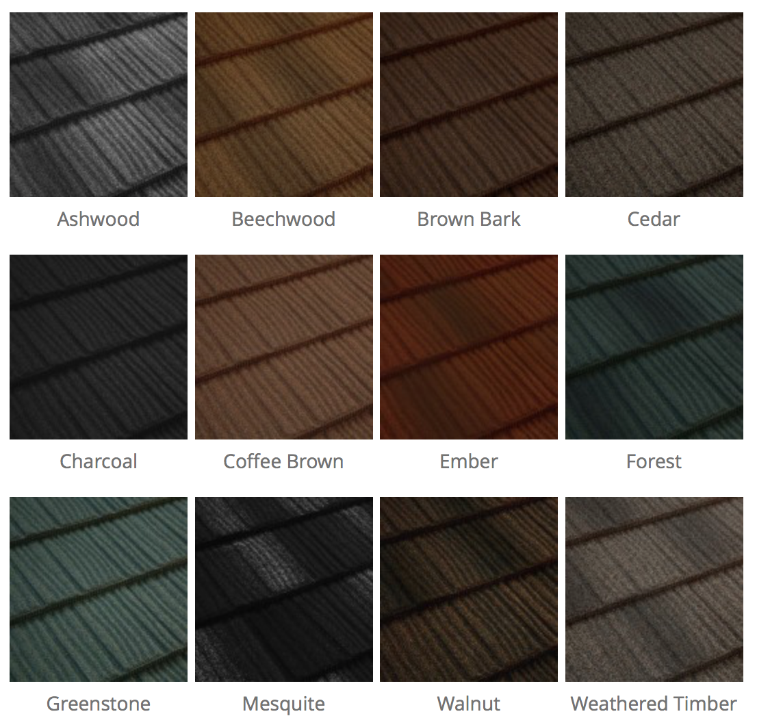 Metrotile Shake Textured Finish Roof Systems