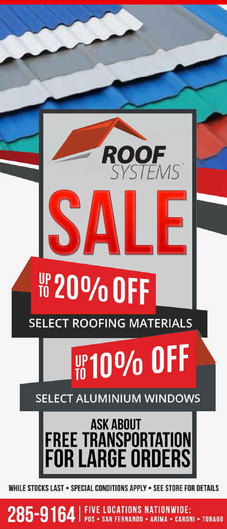 Up to 20% OFF Select Roofing Materials