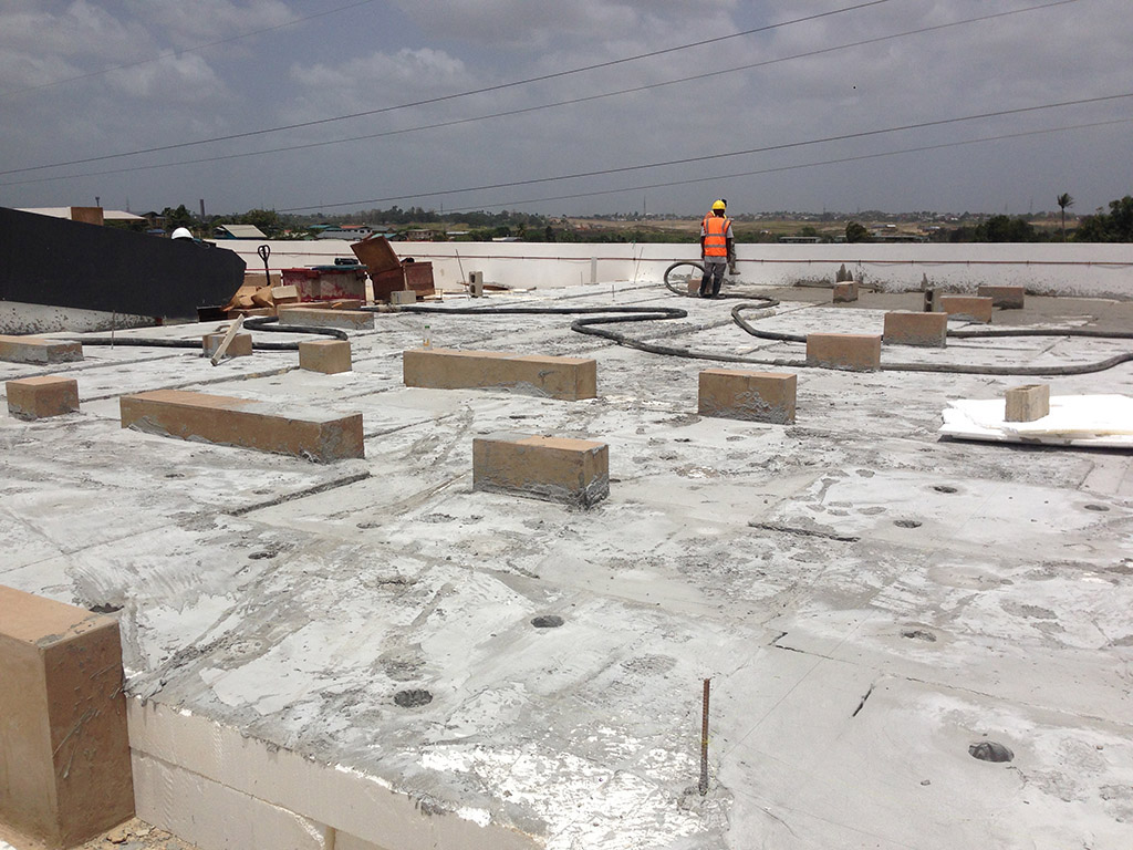 Lightweight Concrete Roof Systems