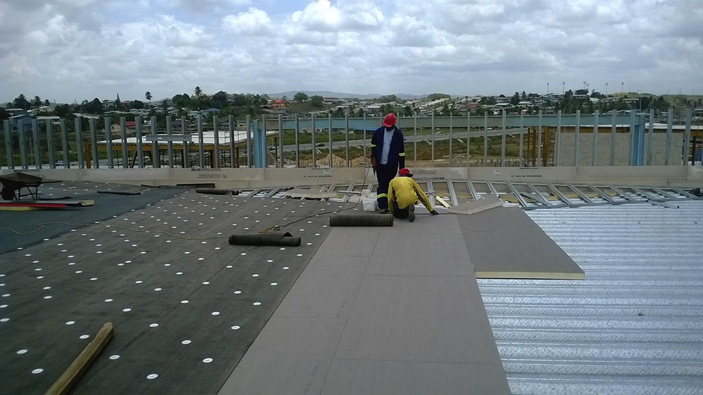 Waterproofing Works Roof Systems