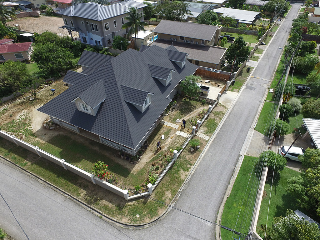 Metrotile Shingle Textured Finish Roof Systems